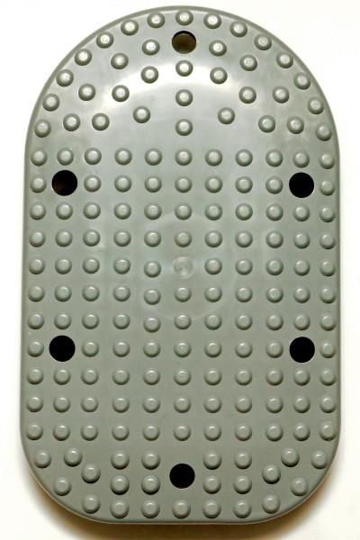 Massageplatte mit 4 Gewindeeinsätzen für Vibramat de Luxe